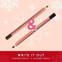 Write It Out Bundle (Moko Moko Eyebrow Pencil & Eyeliner Pencil)