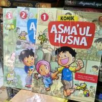 Komik Asmaul Husna Untuk Anak