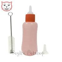 Dot Susu Anak Kucing Anjing Kelinci Hewan Botol + Sikat + Refil
