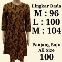 Produsen Tunik Fashion   Baju Atasan Kerja Batik   Batik Outer Gamis