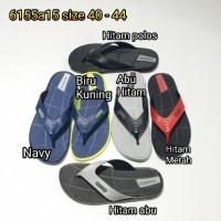 sandal jepit pria karet luofu sendal cowok import 6155a15
