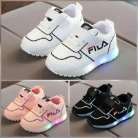 Sepatu anak led FILA untuk anak laki-laki atau perempuan
