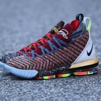55ecc3c3019d61 Nike Lebron 16 What The   king Multicolor sepatu Basket