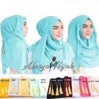 jilbab instan tali rumbai kerudung praktis langsung pakai