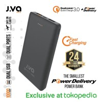 JVA Tech 10000mAh Powerbank Quick Charge 3.0 + PD Power Delivery