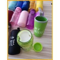 Sale My Bottle Warna Bpa Free + Pouch / Botol 500Ml + Filter + Cover