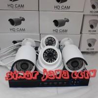 PAKET CCTV MURAH 4CHANEL AHD 3MP KMPLIT TGGL PSNG