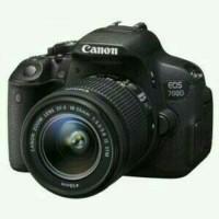KAMERA CANON 700D KIT 18-55 STM PAKETAN MEMORY 16GB UV FILTER TAS