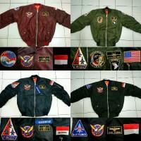 jaket bomber / jaket air crew