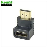 Adapter HDMI Male To HDMI Female Elbow Siku L 90 Degree