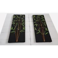 Harga termurah lukisan bambu 3d minimalis pring | antitipu.com