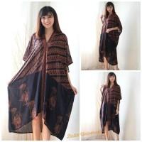 Harga top kaftan batik dress terusan caftan wanita modern | Pembandingharga.com