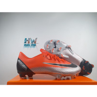 Sepatu Bola Nike Vapor XII Pro Flash Crimson FG Replika Impor