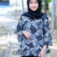 Baju Blouse Jumbo Salwa Batik Baju Atasan Wanita Bigsize ba1f28096e