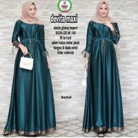 Dress Devita Maxy bottle green