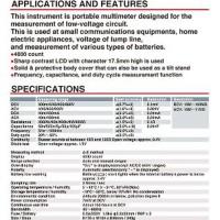 Jual Sanwa Digital Multimeter CD-800a Limited