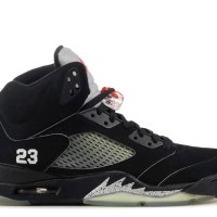 Jordan 5 Metallic Black (UA)