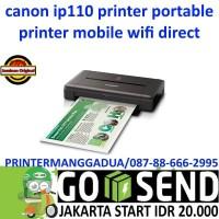 CANON IP110 PRINTER PORTABLE-MOBILE WIFI KECIL DAN MUDAH DI BAWA