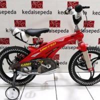 TERLARIS !!! Sepeda Anak 16 United Aero Magnesium