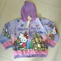 jaket hello kitty