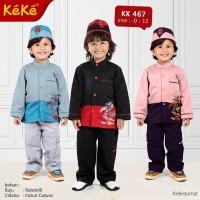 Kekesumut KK 467 size 8 Baju Koko Anak Busana Muslim Keke Branded Ori