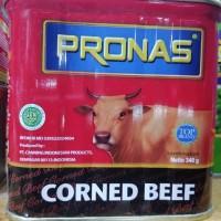 Kornet Sapi Corned Beef Pronas 340 gr