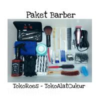 Paket Barber - Peralatan Usaha Barbershop Standar