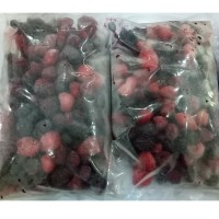 Buah Beku Mix Berry Mixed Berries Frozen IQF 1kg TERMURAH DIJAMIN Bos