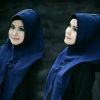 Jilbab azaira hijab hoodie mini azaira instan bubble termurah