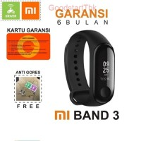 XIAOMI MI BAND 3 OLED DISPLAY SMART BRACELET SMARTWATCH ORIGINAL MURAH