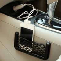 Harga organizer hp mobil tempat penyimpanan gadget 2 slot aks | WIKIPRICE INDONESIA