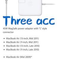 New Adaptor Charger Apple Macbook Air Magsafe 45W Original New Mac1