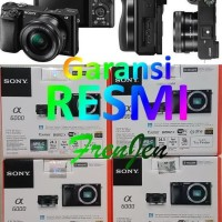 Harga murah sony alpha a6000 kit 16 50mm camera mirrorless hitam | Pembandingharga.com