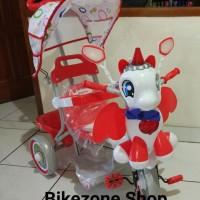 Keren Sepeda Roda 3 Anak Family Little Pony Kuda Phony Gosend Bandung