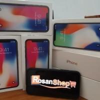 trnsaksi online aman dan tanpa resiko HP iPhone X - 256Gb ( Space