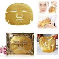 Harga masker wajah crystal collagen gold powder facial mask bio | Pembandingharga.com