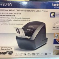 Professional Wired/Wireless Network Label Printer QL-72 Murah