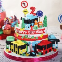Kue Ulang Tahun Tayo Diameter 20 Cm Mohon Baca Keterangan