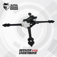 ALPHASQUAD Seeker HS Underbone Racing Frame - 5mm arm