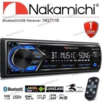 Single Din Deckless Nakamichi NQ711B Usb Bluetooth With Apps Remote