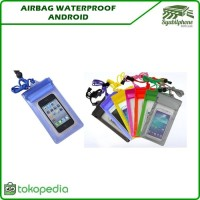 Airbag Waterproof Android L&XL - Waterproof HP - Pelindung Hp Anti Air