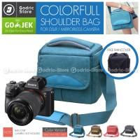 Tas KANVAS CANDY Sling Bag Case Kamera Mirrorless DSLR XA3 XA5 XA20 M3