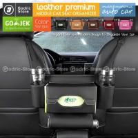 Leather BARRIER (Pets & Kids) Auto Car Organizer Tas Jok Kulit Mobil