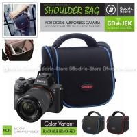Tas NILON TRAVEL Sling Bag Case Kamera Mirrorless XA3 XA5 XA20 A6000