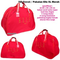 Travel Bag Elle Biru Dongker