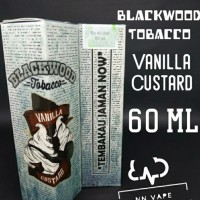 E-Liquid Premium BlackWood Tobacco Vanilla Custard 60Ml 3Mg, 6Mg, 9Mg