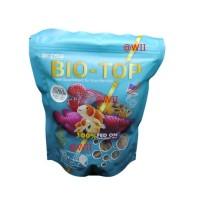 ulat ulet hongkong kering dry larvae BIO TOP makanan ikan