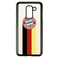 Casing Samsung Galaxy J8 2018 FC Bayern Munchen Logo Simple L1991