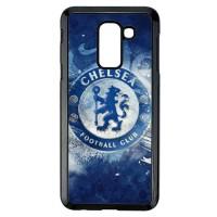 Casing Samsung Galaxy J8 2018 Chelsea Logo art Blue Z4919