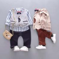 Harga ca1826 baju setelan semi formal anak laki laki bayi balita | Pembandingharga.com